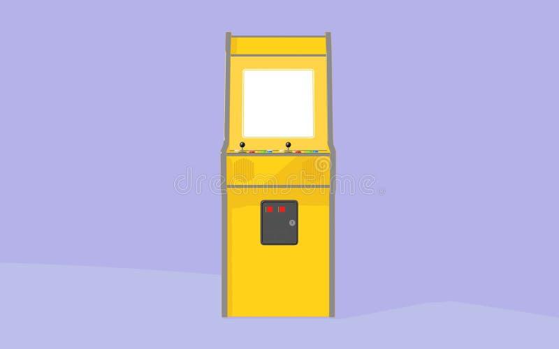 葡萄酒拱廊机器 皇族释放例证