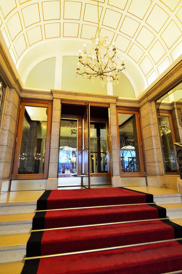 葡萄酒旅馆入口 库存照片