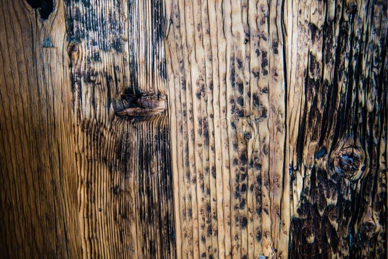 葡萄酒木地板背景 免版税库存照片