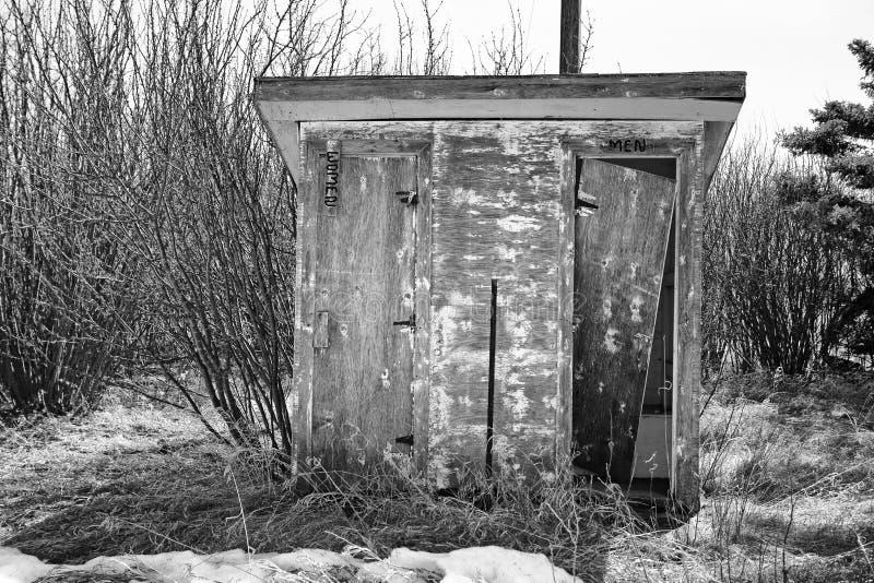 葡萄酒木外屋 库存图片