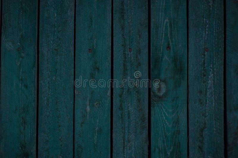 葡萄酒木深蓝水平的板 o r 图库摄影