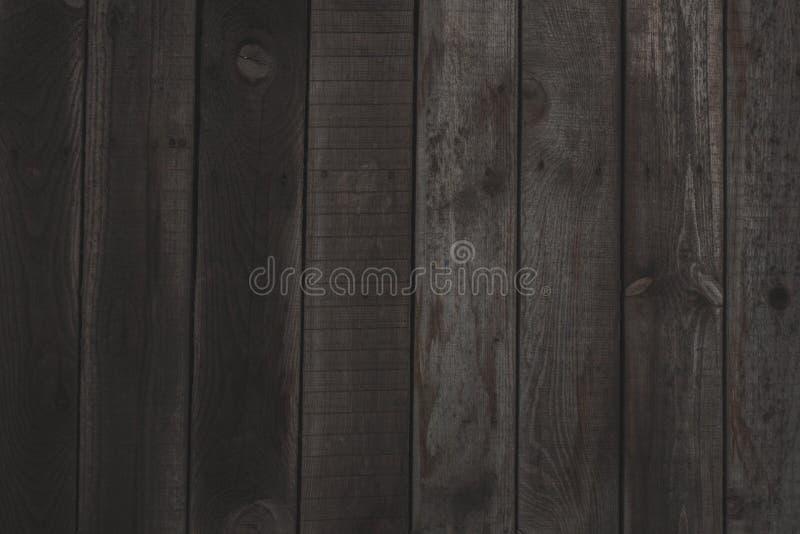 葡萄酒木深蓝水平的板 o r 免版税库存图片