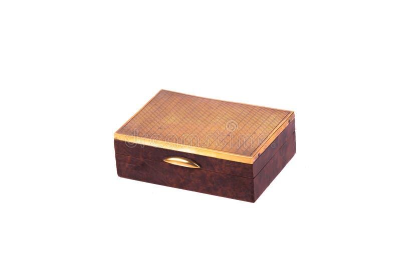 葡萄酒木箱 免版税库存照片