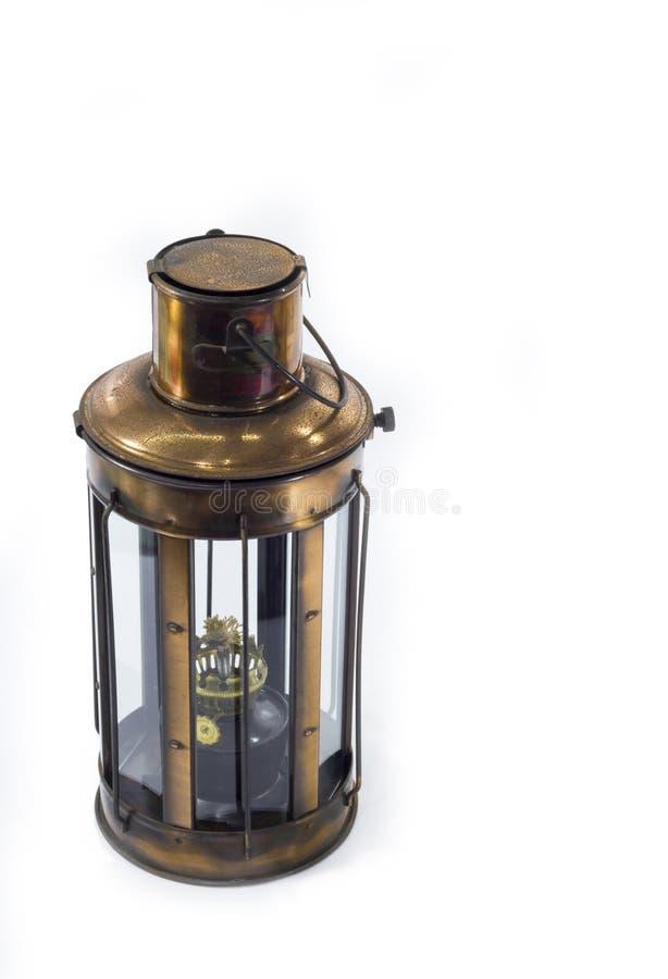 葡萄酒样式煤油灯,灯笼 免版税库存图片