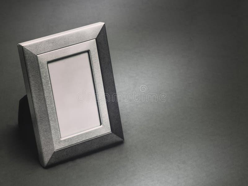 葡萄酒样式画框,空 黑白黑白照片 库存图片