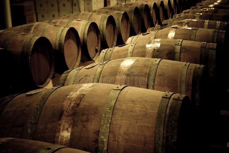 葡萄酒桶 库存图片