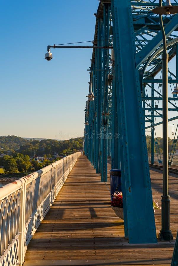 葡萄酒步行桥 库存图片