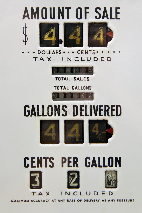 葡萄酒气泵 免版税库存图片