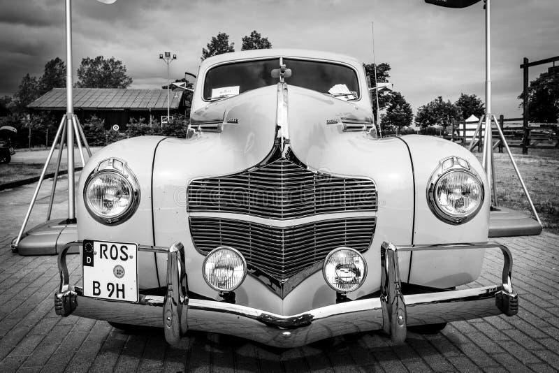 葡萄酒汽车推托事务Coupe, 1940年 库存图片