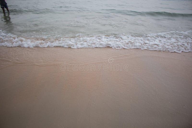 葡萄酒海滩背景 免版税库存图片