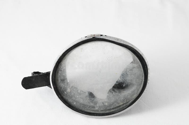葡萄酒潜水面具 库存照片