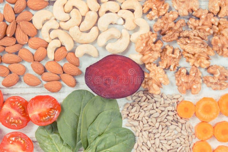葡萄酒照片,包含维生素B7和饮食纤维,健康营养的滋补产品 库存图片