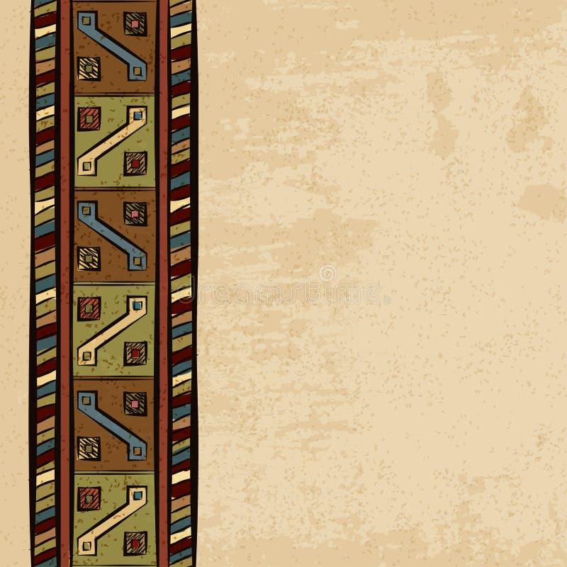 葡萄酒种族背景无缝的装饰品 皇族释放例证