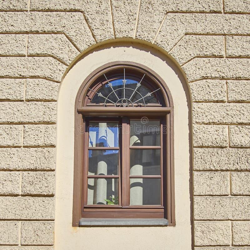 葡萄酒窗口, Munchen,德国 免版税库存照片