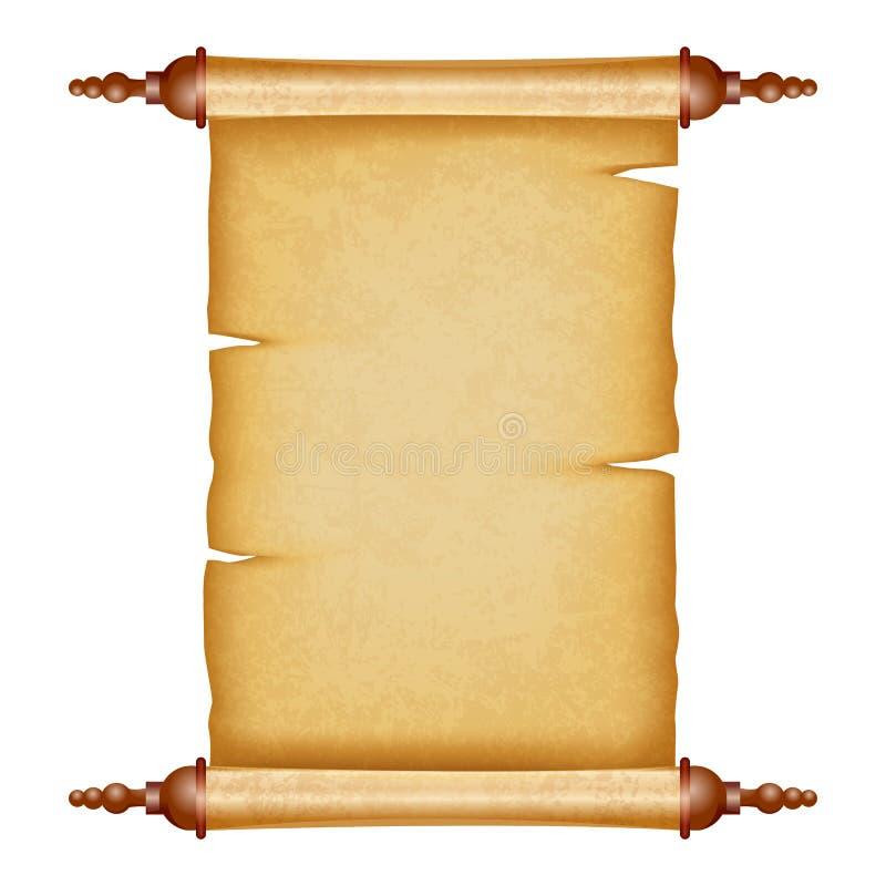 葡萄酒纸卷 皇族释放例证