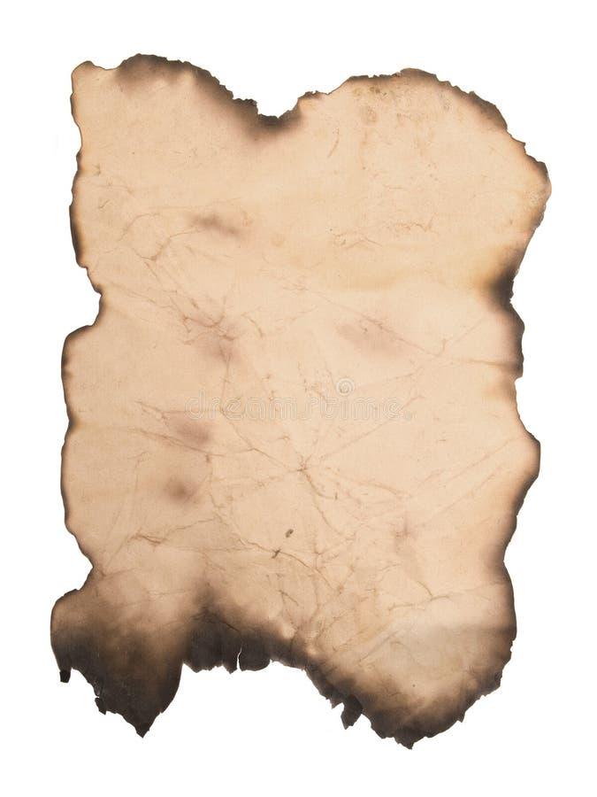 葡萄酒纸张张  免版税库存照片