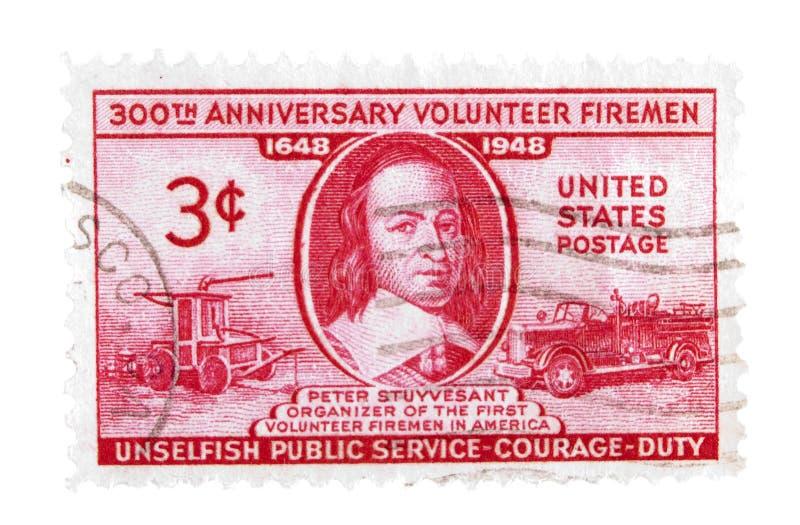 葡萄酒美国邮票 库存图片