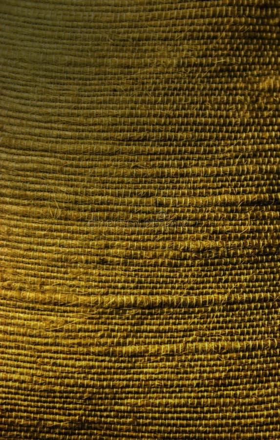 葡萄酒自然粗麻布黑森州的大袋纹理,背景,背景,墙纸,特写镜头,设计 库存照片