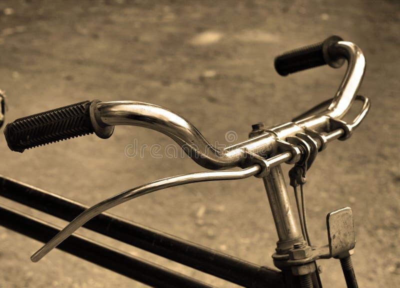 葡萄酒自行车。 库存图片