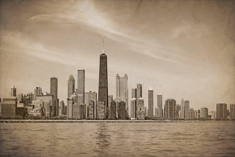 葡萄酒芝加哥 免版税库存图片