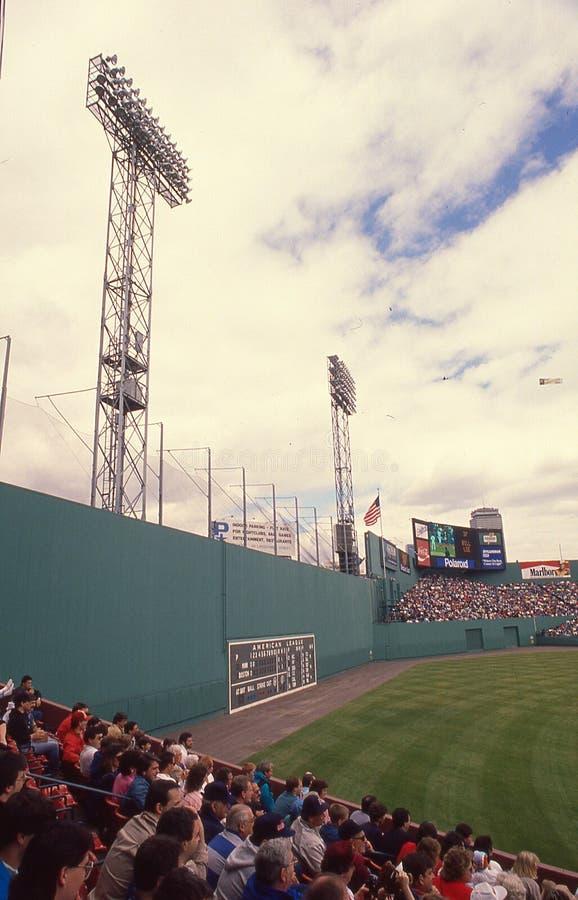 葡萄酒芬威球场,波士顿,马萨诸塞 库存图片