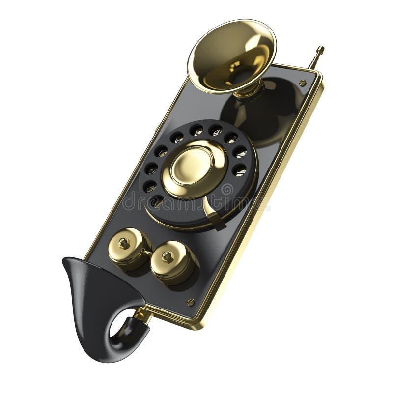 葡萄酒蒸汽低劣的巧妙的电话 皇族释放例证