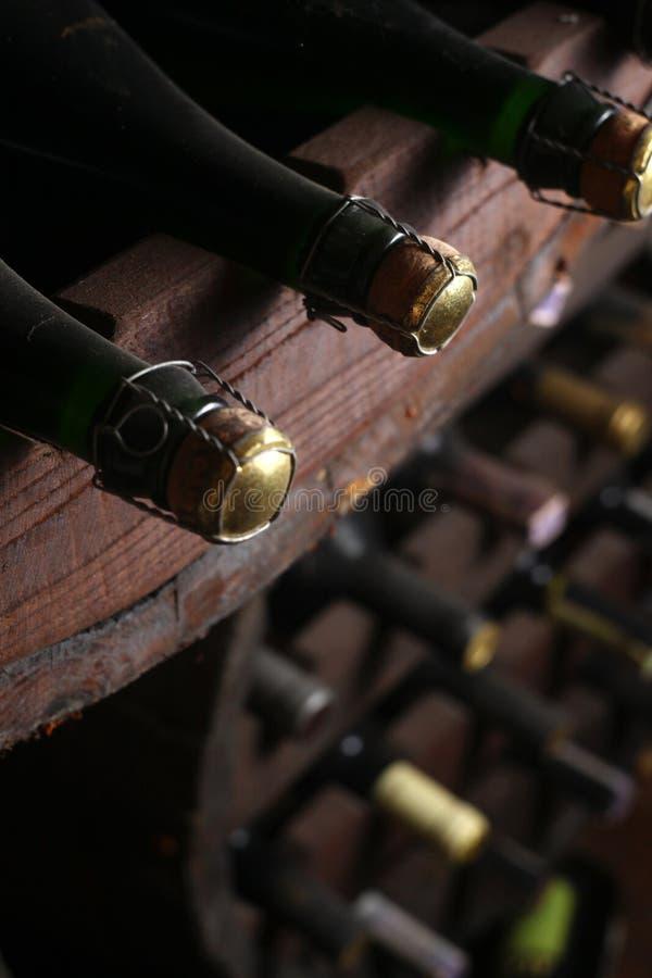 葡萄酒酒瓶 库存图片