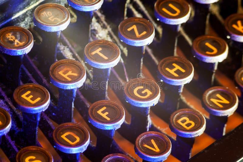 葡萄酒键盘 库存照片