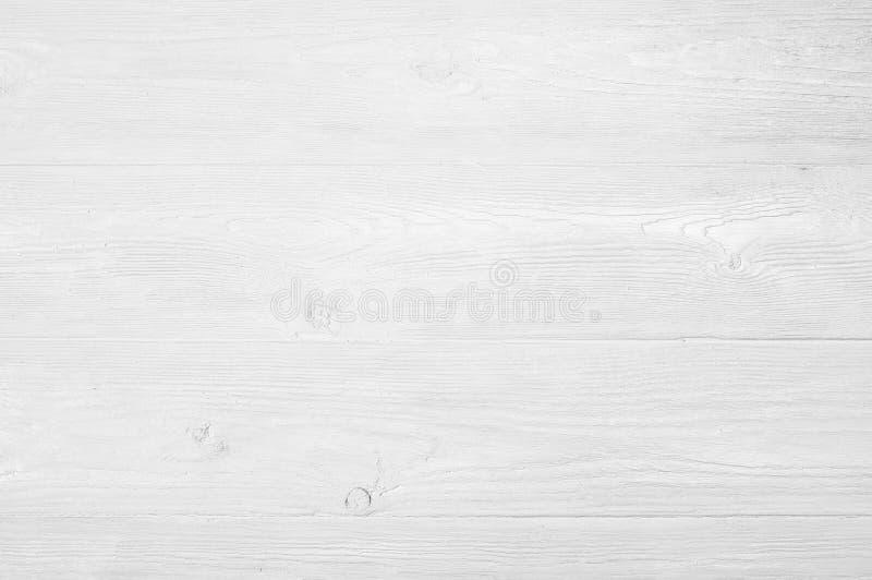 葡萄酒风化了破旧的白色被绘的木纹理作为背景 免版税库存照片