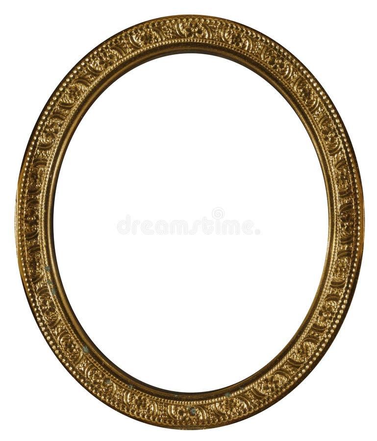 葡萄酒黄铜框架 免版税图库摄影