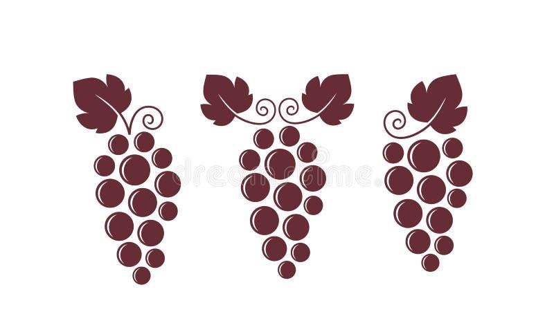 葡萄酒 E 库存例证