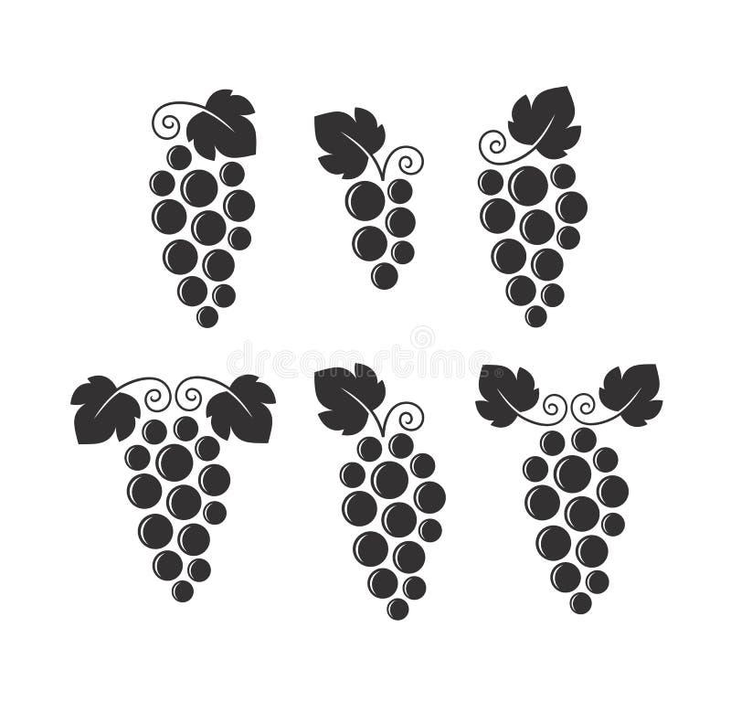 葡萄酒 E 向量例证