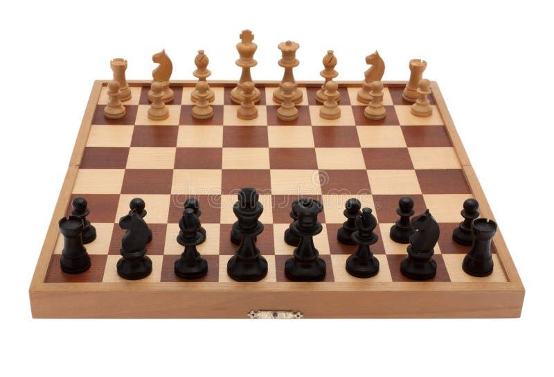 董事会一盘象棋 库存图片