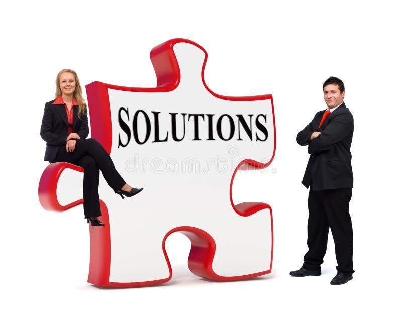 董事会企业难题解决方法 免版税库存照片