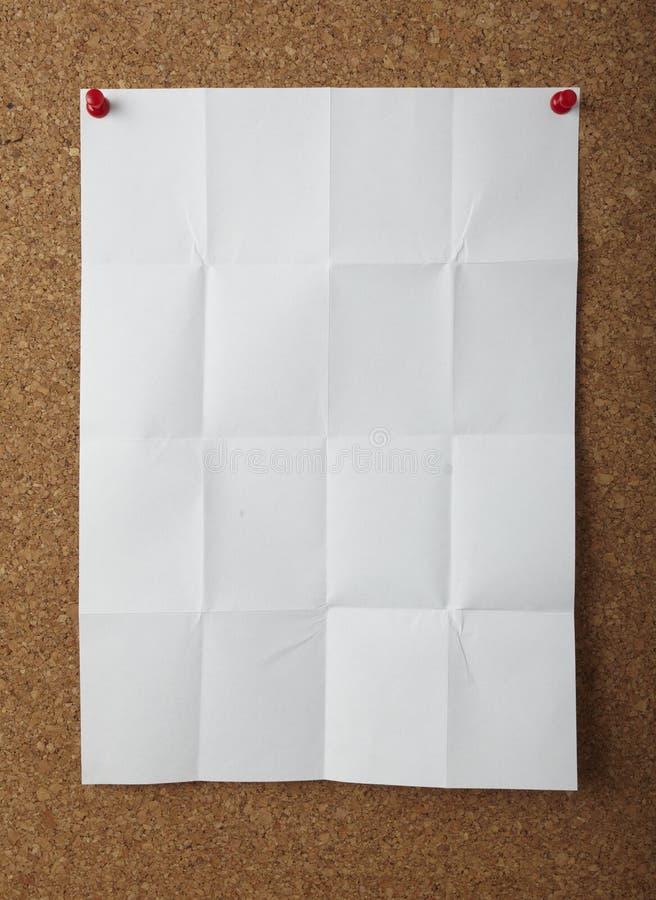 董事会企业黄柏附注办公室针推进 免版税库存照片