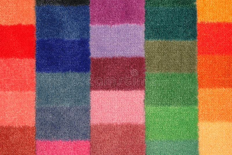 董事会地毯颜色范例 免版税图库摄影