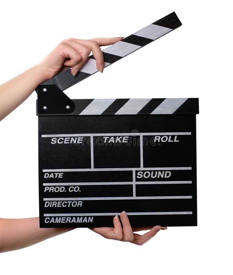 董事会拍板现有量电影开张二 免版税图库摄影