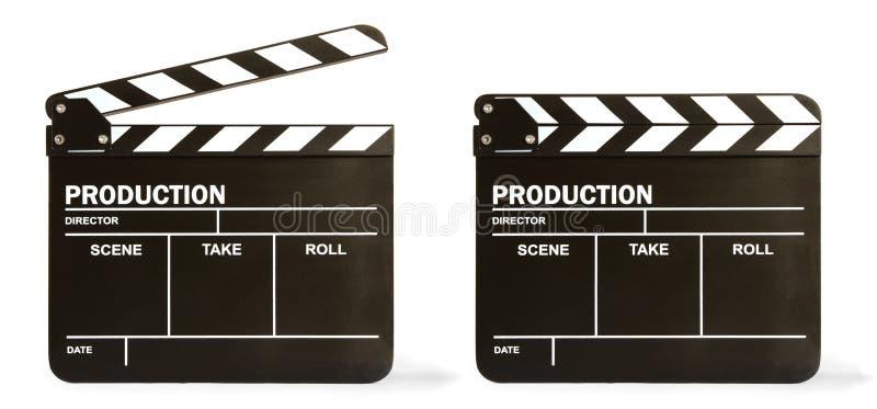 董事会拍板电影 免版税库存照片
