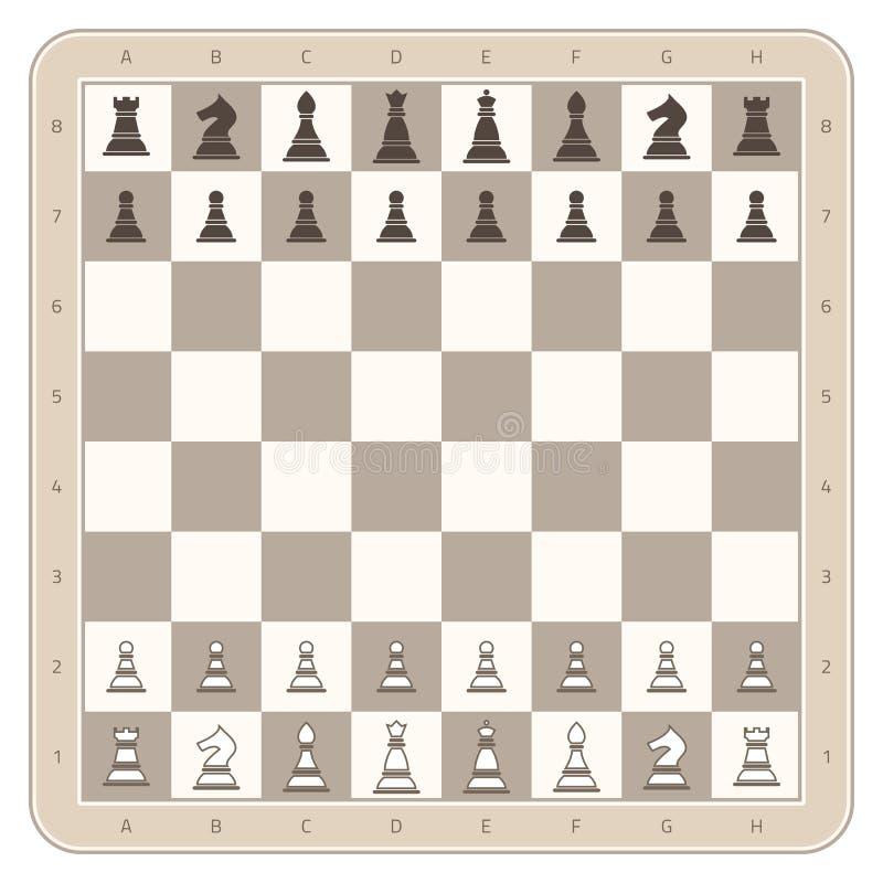董事会棋判断比赛例证图象向量 皇族释放例证