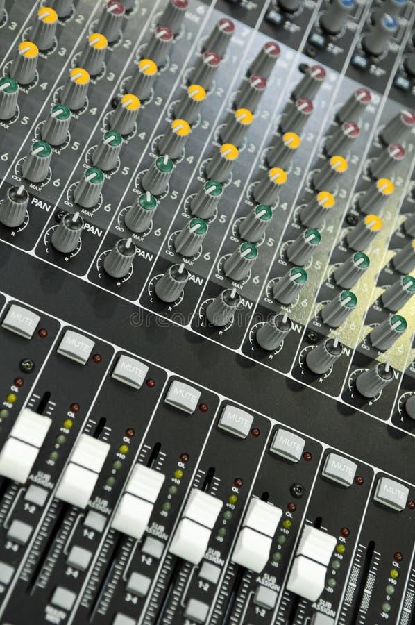 董事会混合的声音 库存照片