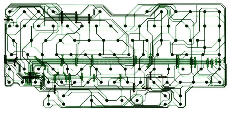 董事会电路计算机 向量例证