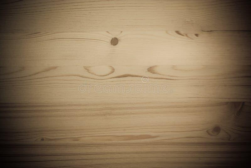 董事会空的做的通知单老木头 库存图片