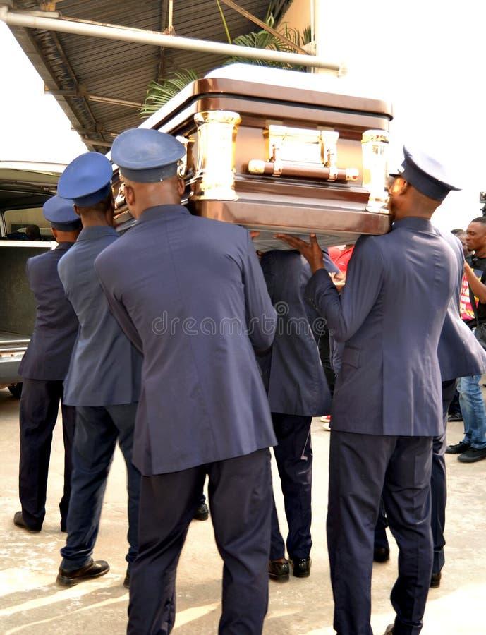 葬礼泵浦服务 库存图片