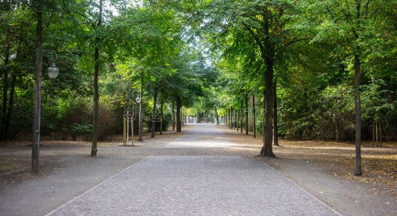 蒂尔加滕公园在柏林,德国 E 免版税库存图片