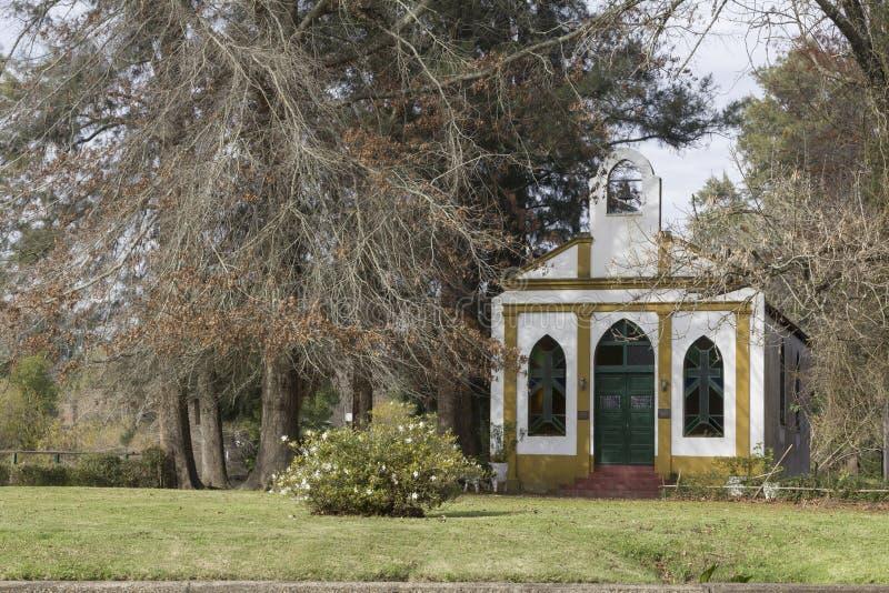 蒂格雷三角洲del的巴拉那布宜诺斯艾利斯阿根廷小老教会 库存照片