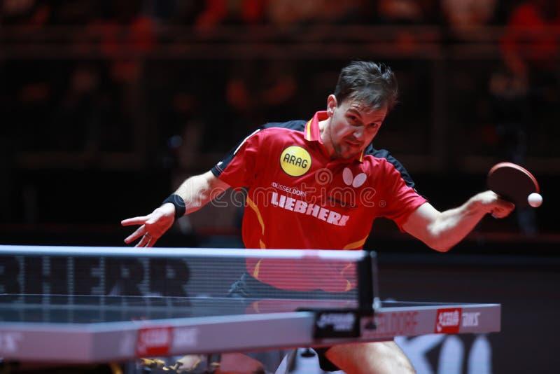 蒂莫波尔德世界`s在杜塞尔多夫选拔32个国人乒乓球冠军回合5月29要塞滑翔伞图片