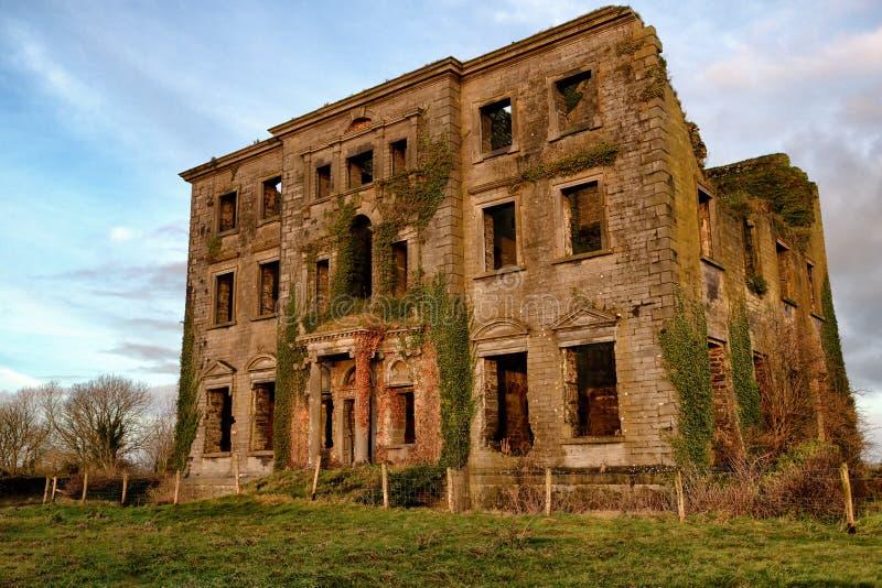 蒂龙议院废墟  图库摄影