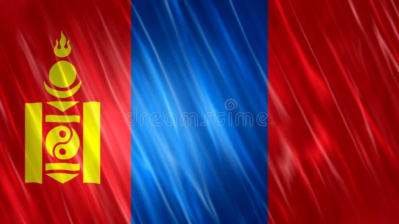 蒙古旗子 皇族释放例证