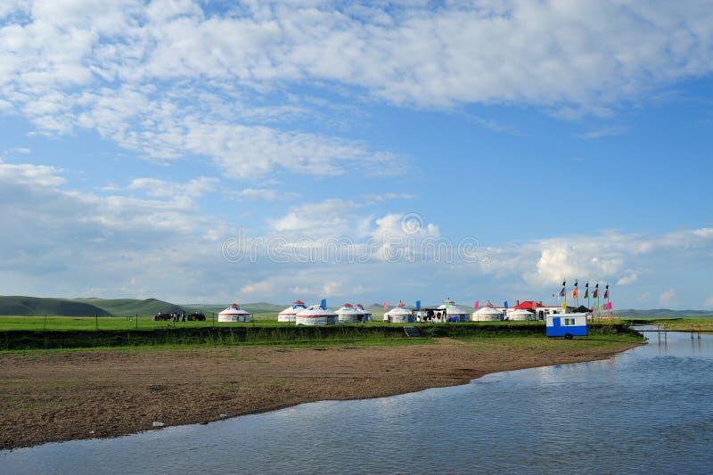 蒙古程序包 免版税库存图片