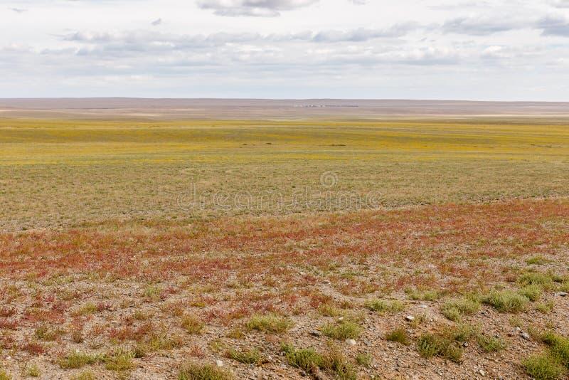 蒙古风景在隔壁滩 库存图片